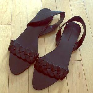 Zara Basic Sandal Flats